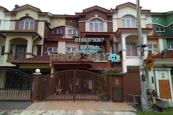 For Sale Link at Section 1, Bandar Mahkota Cheras Freehold Semi Furnished 4R/4B 680k