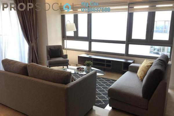 For Rent Condominium at The Sentral Residences, KL Sentral Freehold Fully Furnished 2R/2B 4.8k