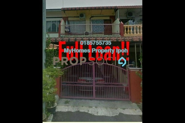For Sale Terrace at Bandar Lahat Baru, Ipoh Leasehold Unfurnished 3R/2B 208k