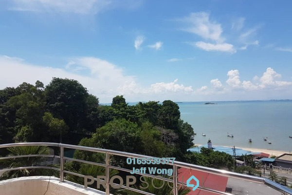 For Rent Condominium at Marina Tower, Tanjung Bungah Freehold Fully Furnished 2R/2B 1.5k