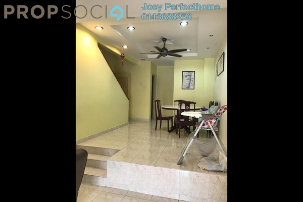 For Sale Terrace at Palm Walk, Bandar Sungai Long Freehold Semi Furnished 4R/3B 639k