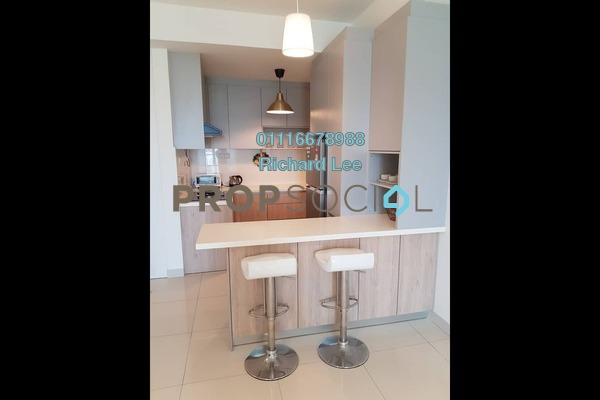 For Rent Serviced Residence at Temasya 8, Temasya Glenmarie Freehold Fully Furnished 2R/2B 2.5k