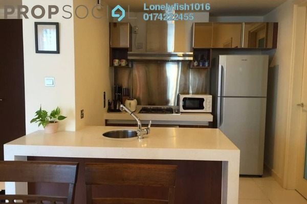 For Rent Condominium at Tiffani Kiara, Mont Kiara Freehold Fully Furnished 1R/2B 3.5k