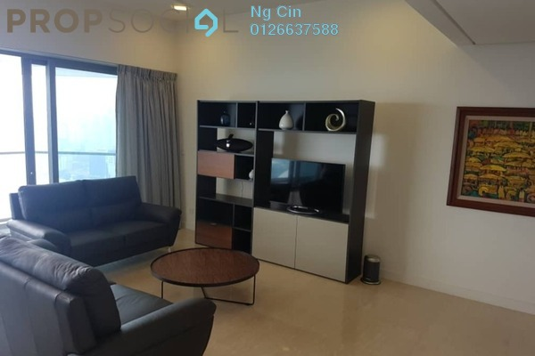 For Sale Condominium at The Sentral Residences, KL Sentral Freehold Fully Furnished 2R/3B 2.5m