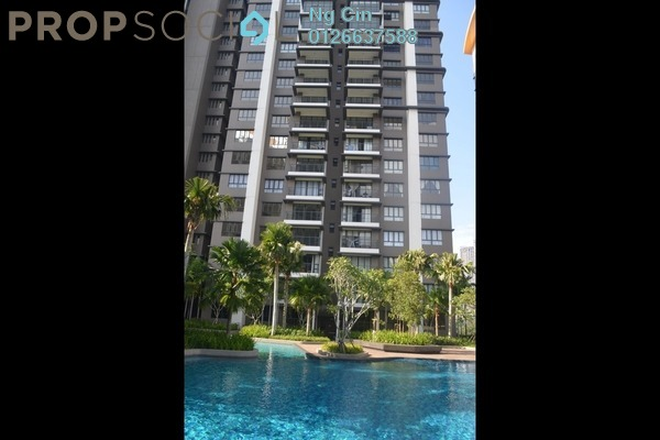 For Rent Condominium at The Sentral Residences, KL Sentral Freehold Fully Furnished 2R/3B 6.5k