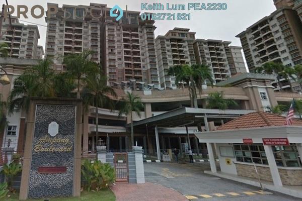 For Rent Condominium at Ampang Boulevard, Ampang Freehold Semi Furnished 3R/2B 1.6k