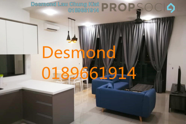 For Rent Condominium at CitiZen, Old Klang Road Freehold Fully Furnished 3R/2B 2.5k
