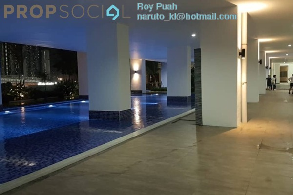 For Rent Condominium at Residensi Puchongmas, Puchong Freehold Semi Furnished 3R/2B 1.2k