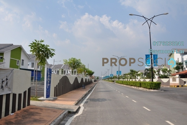 For Sale Terrace at D'Island, Puchong Freehold Fully Furnished 6R/6B 1.35m