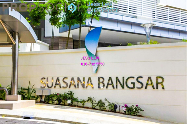 For Rent Condominium at Suasana Bangsar, Bangsar Freehold Fully Furnished 2R/2B 3.5k