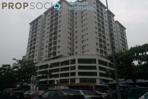 For Sale Condominium at Prima Setapak I, Setapak Freehold Semi Furnished 3R/2B 510k