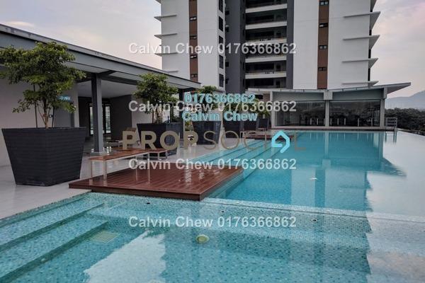 For Sale Condominium at Glomac Centro, Bandar Utama Freehold Unfurnished 3R/2B 591k