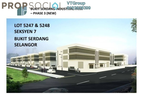 For Sale Factory at Kawasan Perindustrian Bukit Serdang, Seri Kembangan Freehold Unfurnished 1R/6B 5.97m