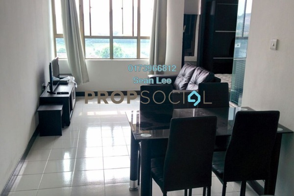 For Rent Serviced Residence at Ritze Perdana 1, Damansara Perdana Freehold Fully Furnished 1R/1B 1.3k