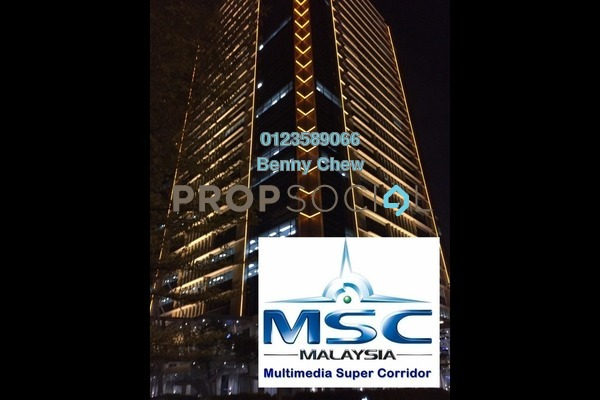 For Rent Office at The Pinnacle, Bandar Sunway Freehold Semi Furnished 0R/0B 24k