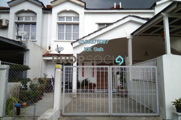 For Sale Terrace at Section 6, Bandar Mahkota Cheras Freehold Semi Furnished 4R/3B 460k