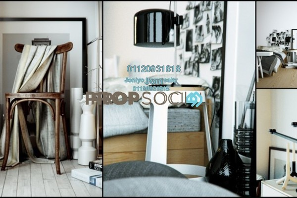For Sale Condominium at Cyperus Serviced Residence @ Tropicana Gardens, Kota Damansara Freehold Semi Furnished 3R/2B 580k
