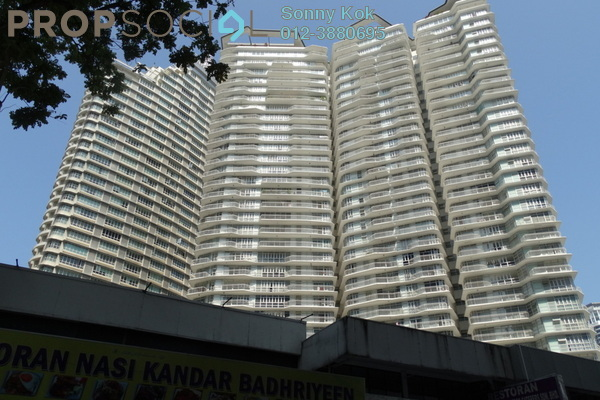 For Sale Condominium at Idaman Residence, KLCC Freehold Fully Furnished 3R/3B 1.73m
