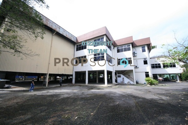 For Rent Factory at Section 16, Shah Alam Freehold Semi Furnished 0R/4B 62k