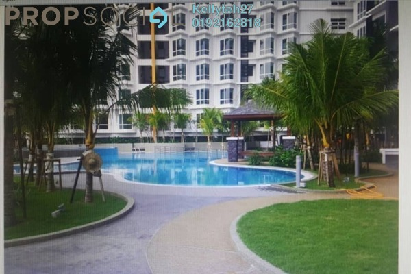 For Rent Serviced Residence at Tiara Mutiara 2, Old Klang Road Freehold Semi Furnished 3R/2B 1.3k