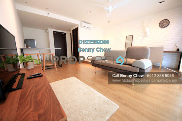 For Rent Condominium at Trefoil, Setia Alam Freehold Unfurnished 0R/1B 1.4k
