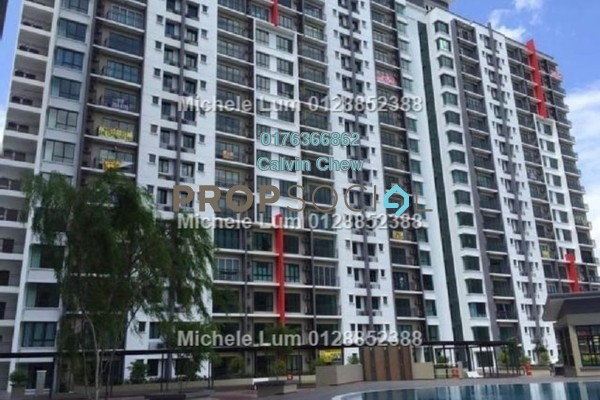 For Sale Condominium at V-Residensi, Selayang Heights Freehold Unfurnished 3R/3B 348k