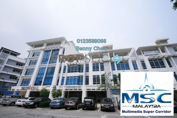For Rent Office at i-City, Shah Alam Freehold Semi Furnished 0R/0B 4.5k