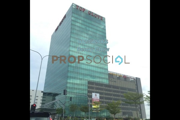 For Rent Office at Top Glove Tower, Setia Alam Freehold Semi Furnished 0R/0B 6k