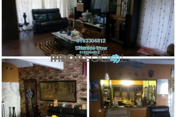 For Sale Terrace at PP 4, Taman Putra Prima Freehold Semi Furnished 6R/3B 880k