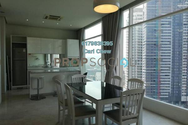 For Rent Duplex at Quadro Residences, KLCC Freehold Fully Furnished 3R/2B 7.5k