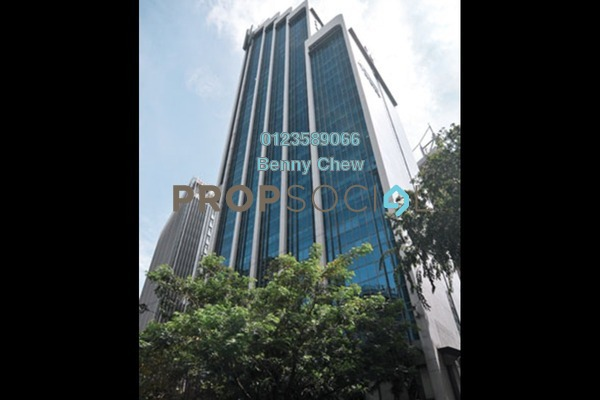 For Rent Office at Menara Standard Chartered, Bukit Bintang Freehold Semi Furnished 0R/0B 15k