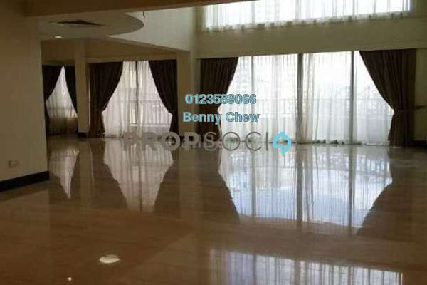 For Rent Condominium at Regency Tower, Bukit Ceylon Freehold Semi Furnished 3R/4B 12k