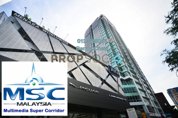 For Rent Office at Menara Worldwide, KLCC Freehold Semi Furnished 0R/0B 19.6k