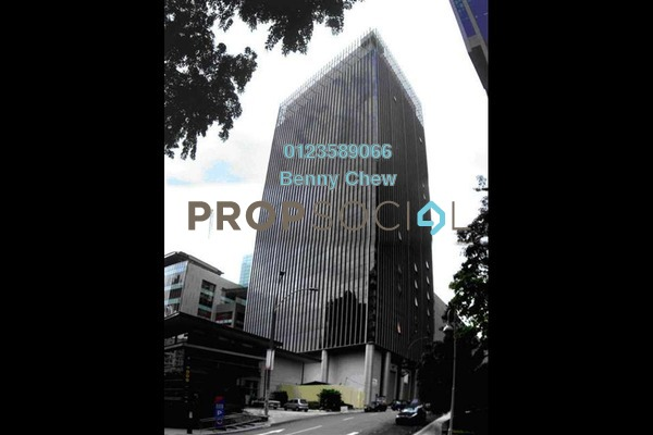 For Rent Office at Pavilion Tower, Bukit Bintang Freehold Semi Furnished 0R/0B 21.1k