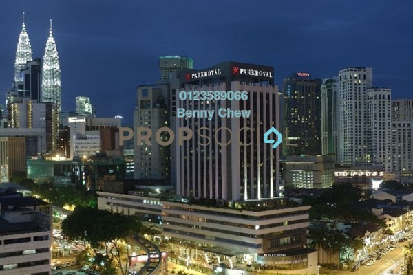 For Rent Office at President House, Bukit Bintang Freehold Semi Furnished 0R/0B 2.3k