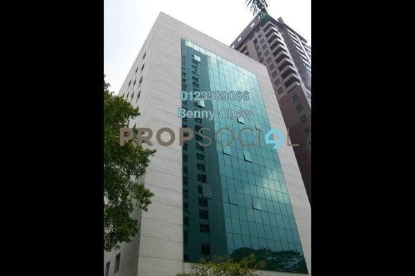 For Rent Office at Bangunan KWSP, Bukit Ceylon Freehold Semi Furnished 0R/0B 7k
