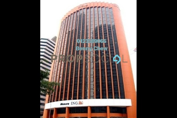 For Rent Office at Menara ING, Bukit Ceylon Freehold Semi Furnished 0R/0B 18k