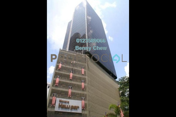 For Rent Office at Menara Haw Par, KLCC Freehold Semi Furnished 0R/0B 10.5k