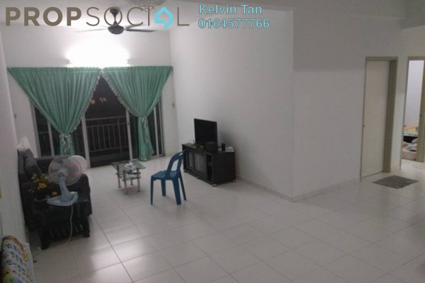 For Rent Apartment at 1-World, Bayan Baru Freehold Fully Furnished 3R/2B 1.6k