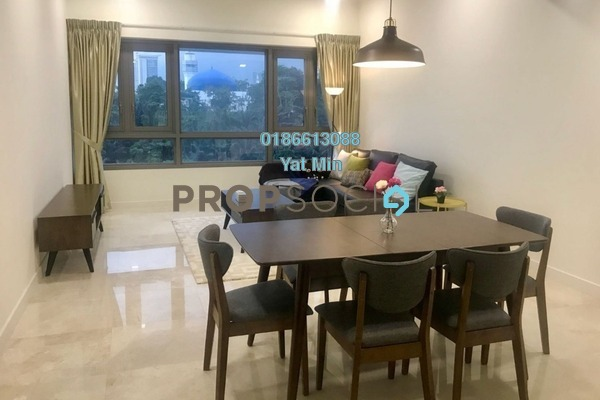 For Sale Serviced Residence at The Sentral Residences, KL Sentral Freehold Fully Furnished 2R/2B 1.98m