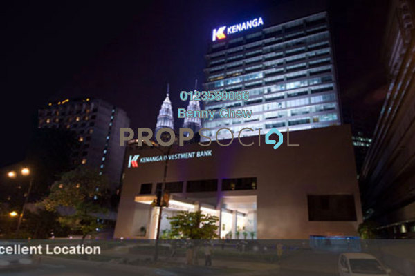 For Rent Office at Kenanga International, KLCC Freehold Semi Furnished 0R/0B 17.5k