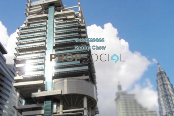 For Rent Office at Menara Prudential, KLCC Freehold Semi Furnished 0R/0B 7.8k