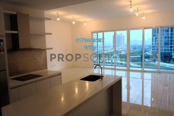For Rent Serviced Residence at EcoSky Residence, Kuala Lumpur Freehold Semi Furnished 3R/2B 1.9k