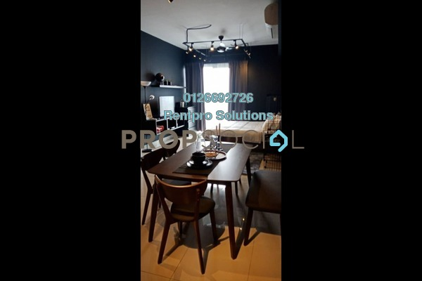 For Rent Condominium at D'Sara Sentral, Sungai Buloh Freehold Fully Furnished 1R/1B 2k