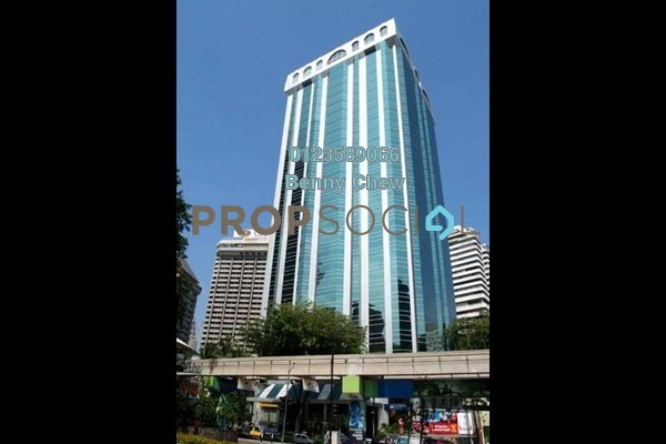 For Rent Office at Wisma Genting, KLCC Freehold Semi Furnished 0R/0B 42k