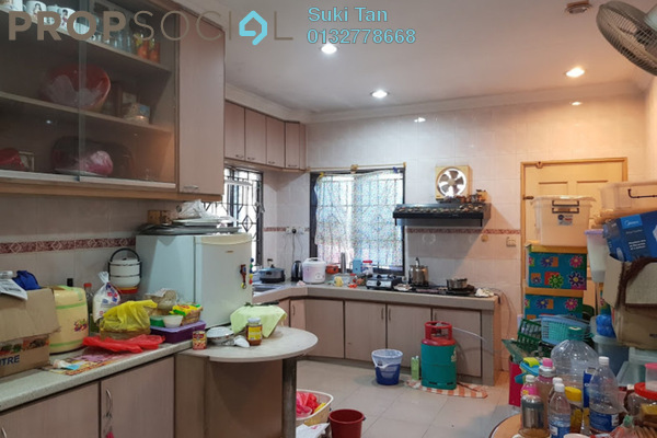 For Sale Terrace at Kepong Baru, Kepong Freehold Semi Furnished 4R/2B 1.05m