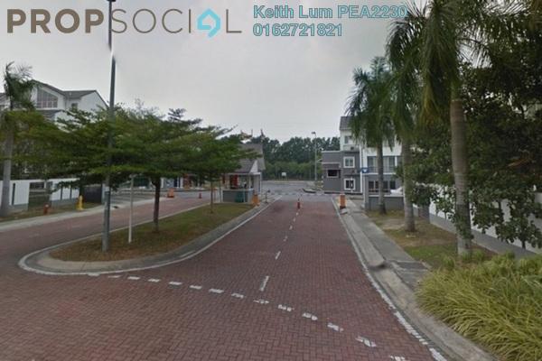 For Rent Townhouse at Lagoon Villas, Kota Kemuning Freehold Fully Furnished 4R/3B 2.4k