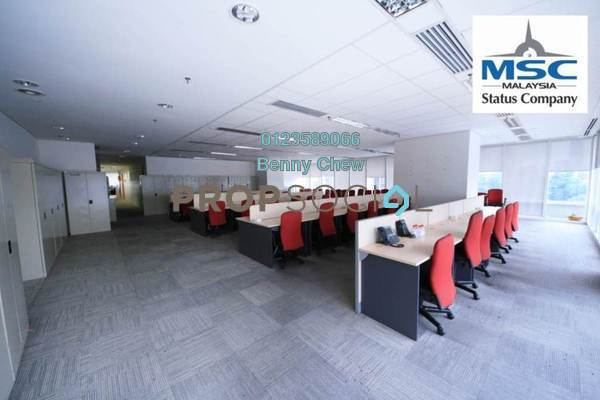 For Rent Office at CapSquare Tower, Dang Wangi Freehold Fully Furnished 0R/1B 62.5k