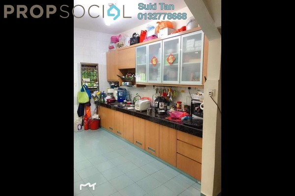 For Sale Terrace at Taman Batu, Jinjang Freehold Semi Furnished 4R/3B 760k