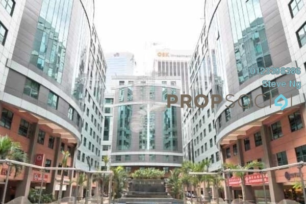 For Rent Office at Megan Avenue 1, KLCC Freehold Unfurnished 0R/0B 4.5k